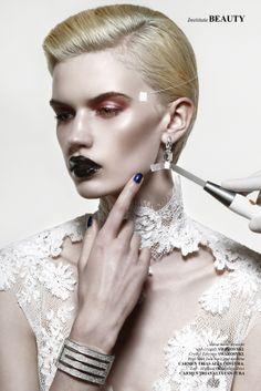 Aesthetics, Photography Didac Alcoba. #makeup #beauty