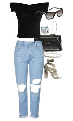 """""""Untitled #6790"""" by ashley-r0se-xo ❤ liked on Polyvore featuring Givenchy, Topshop, Chicwish, Ross-Simons, FOSSIL, Andréa Candela and Kenzo"""