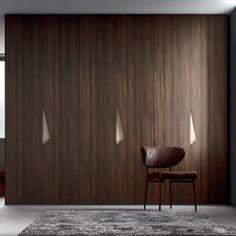Amazing white 'Nut' Wardrobe by Orme Bedroom Door Design, Wardrobe Design Bedroom, Luxury Bedroom Design, Wardrobe Furniture, Bedroom Closets, Small Apartment Interior, Interior Work, Study Table Designs, Wardrobe Door Designs