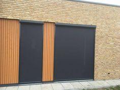 Screen in Tilburg geplaatst. #screen #ritsscreen #zipscreen #opmaat #jvszonwering #swelacollectiedoek #grijsdoek