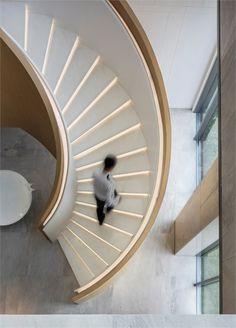 Guangzhou Huarun Tianhe Sales Center by Matrix Design. Guangzhou, China.