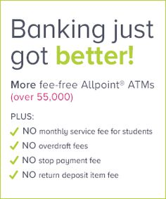 Banking just got better! I hope so. living in a rural area I have yet to find a free ATM. I'll keep looking ok...