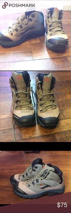 Men's Garmont Gore-Tex hiking boots size 8 Water proof, leather, Vibram soles, lightly used. Shoes Boots