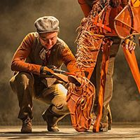 Breathtaking puppetry brings horses to life in Broadway Across Canada's War Horse, Vancouver, 2013