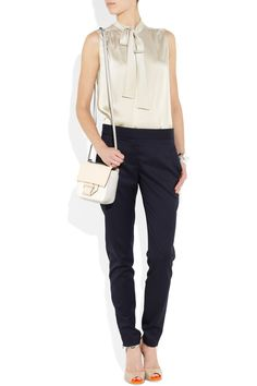 cute outfit including chloe top, stella mccartney heels & other..