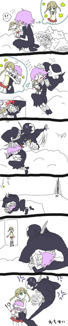 This little comic is just so kawaii (cute) :3