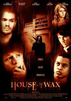 House Of Wax Movie poster Metal Sign Wall Art 8in x 12in