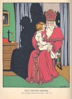 Om stil te luisteren : [complete uitgave] / door C. Asscher-Pinkhof ; geïllustreerd door Miep de Feijter. - Alkmaar : Gebr. Kluitman, [1930]. - 48, 48, 48 en 48 p, [16] bl. pl. : zw. tek. en 16 gekl. ill. ; 23 cm