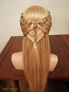 Rose-Shaped Braided Bun - 40 Updos for Long Hair – Easy and Cute Updos for 2019 - The Trending Hairstyle Pretty Hairstyles, Braided Hairstyles, Latest Hairstyles, Braided Updo, Medieval Hairstyles, Elvish Hairstyles, Medium Hair Styles, Long Hair Styles, Long Box Braids