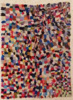 L15082 boucherouite tapis tapis marocains tapis de par BOUCHEROUITE, $459.00