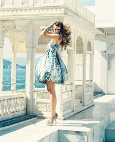 Can I have the whole package; cute dress and the vacation?! :)