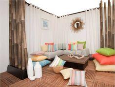 Decoracion de interiores con bambu - Buscar con Google