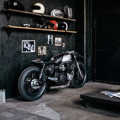 scramblertt: Honda CB750 Cafe Racer | Hookie Co.