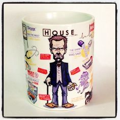 Caneca Personalizada Dr. House - StarGeek Store
