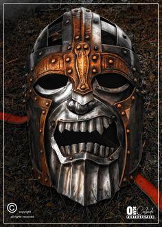 even dead Vikings need a helm