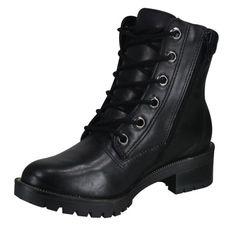Bota Coturno Ramarim 15-50105 - Preto (Bio Napa Soft) - Calçados Online Sandálias, Sapatos e Botas Femininas   Katy.com.br