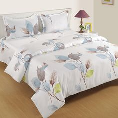 Buy this Spring Leaf Print Zinnia Bed in a Bag Set at Wooden Street at the best prices. #beddingsets #bedsheetset #bedfittedsheets #beddingsetsonline #cottonbeddingsets Bed Sheet Sets, Bed Sheets, Wooden Street, Cotton Bedding Sets, Bedding Sets Online, Bed In A Bag, Amazing Spaces, Bedding Shop