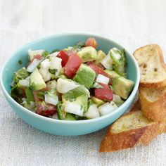 This classic ceviche recipe is the perfect party appetizer. Chef Rick Bayless combines fish with lime and spicy chiles, then piles the mixture on tortilla chips.