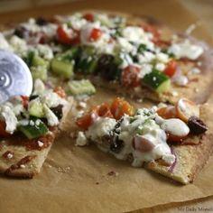 Greek Pizza (photo credit mydailymorsel.com)