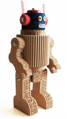Rika Kartonnen Robot
