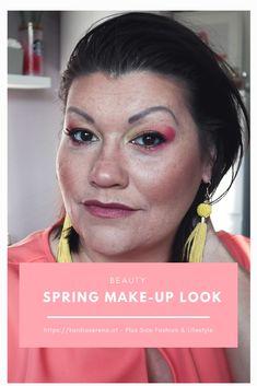 Diesen Flamingo Spring Make-Up Look habe ich mit der 100% veganen Linie von exurbe geschminkt. Was ich von den Produkten und von der Qualität halte verrate ich im Artikel. Natürlich sind die Farben sehr mutig, aber im Frühling definitiv ein Musthave! Make Up Looks, Spring Makeup, Flamingo, Cosmetics, Beauty, How To Make, Tutorials, Recipes, Tips And Tricks