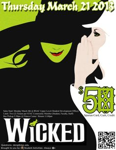 WICKED Thursday March 21, 2013