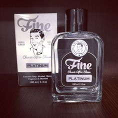 Fine platinum aftershave with a premium, sophisticated fragrance!#fineaccoutrements #aftershave #shaving #shavingculture #aftershaving #shavingproducts #shavingtime