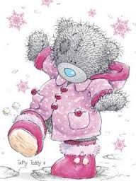 Image result for christmas tatty teddy