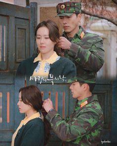 Crash Landing On You-Hyun Bin-K Drama_id-Subtitle Korean Drama Stars, Korean Drama Movies, Korean Star, Korean Actors, Korean Dramas, Iron Man, Deadpool, Best Kdrama, Hot Korean Guys