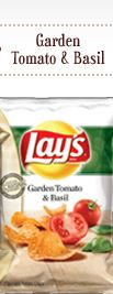 Lay's Garden Tomato & Basil Flavored Potato Chips - oz (Pack of - Grocery and Gourmet Food Lays Chips Flavors, Potato Chip Flavors, Lays Potato Chips, Pizza Flavors, Free Printable Grocery Coupons, Gourmet Recipes, Snack Recipes, Best Chips, Frito Lay