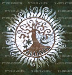 Tree of Life batik