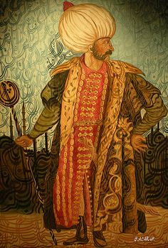Kanuni Sultan Süleyman - Soliman Magnificul.