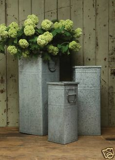 In The Garden On Pinterest Planters Tall Planters And