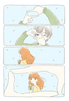 ♥Kawaii Anime♥ ~So cute *-* Anime Art Girl, Manga Art, Manga Anime, Style Anime, Anime Amor, Poses References, Photocollage, Short Comics, Cute Comics