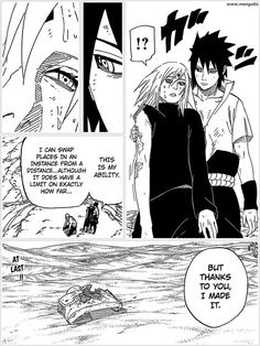 I've been fangirling about the latest Naruto chapter. Specifically this scene....