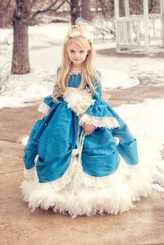 "Take a look at ""Fair Isle Bluebells"", one of Love Baby J's unforgettable Girls Formal Dresses. Girls Formal Dresses, Little Girl Dresses, Formal Gowns, Toddler Dress, Baby Dress, Fairy Costume For Girl, Lovely Girl Image, Girl Inspiration, Lolita Dress"