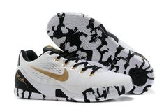 Vind Laatste Nike Kobe 9 Low EM XDR White Black Gold For Sale online of in  Jordany. Shop Top Brands en de nieuwste stijlen Laatste Nike Kobe 9 Low EM  XDR ... 34600d2ae9