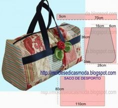 bolsa de viagem Hair Color Ideas dark hair color ideas for curly hair Patchwork Bags, Quilted Bag, Purse Patterns, Sewing Patterns, Tote Pattern, My Bags, Purses And Bags, Diy Sac, Fabric Bags