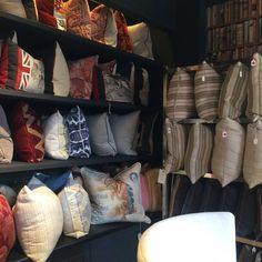 #pillows #andrewmartin #interiordesign #decor #textile #fabric #homedecor #cushions
