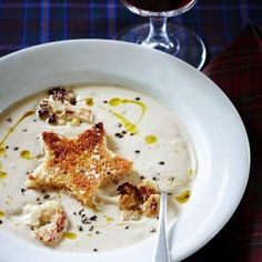 Roasted Cauliflower Soup - Sweet Paul Magazine