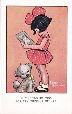 Freda Mabel Rose illustration (1920s-30s illustrator)