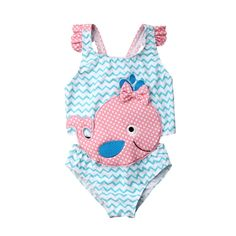 ADORABLE /'PUMPKIN PATCH/' BABY GIRL PINK ONE PCE BATHERS SWIMSUIT SIZE 1 FITS 12M