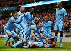 Manchester City 3 v 2 Bayern Munich