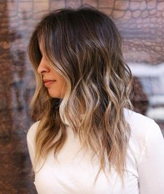 Partial Blonde Midshaft-To-Ends Highlights