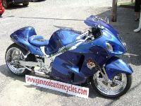 Blue Dreams Custom bike by Garwood Custom Cycles