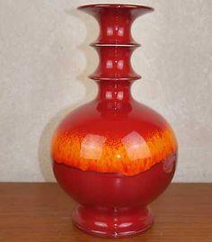 Hutschenreuther Keramik Vase Pop Art 70er 70s pottery Renee Neue