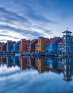 Places I'd Like to Go - Reitdiephaven, Groningen, The Netherlands #travel