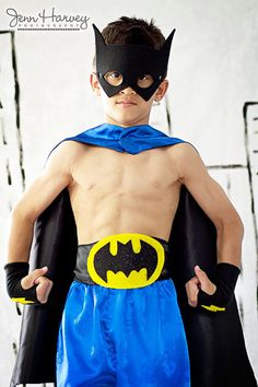 Childrens Super Hero Batboy Cape PLUS Accessory by superkidcapes, $55.00