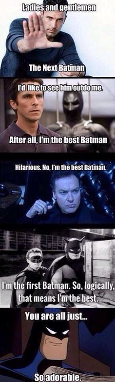 Who is the best Batman?