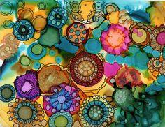 Original_peinture abstraite de fleurs d'été_encre par theInkArtLabhttps://www.etsy.com/ca-fr/listing/258544403/originalpeinture-abstraite-de-fleurs?ref=shop_home_active_1